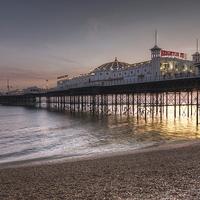 Buy canvas prints of Brighton Pier by James Mc Quarrie