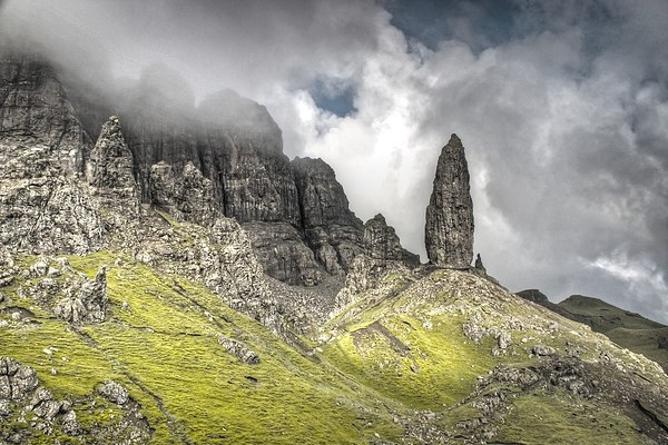 Old Man of Storr on Skye Canvas print by James Mc Quarrie