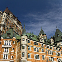 Buy canvas prints of  Chateau Frontenac by Steve Wilson