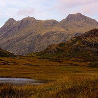 Buy canvas prints of Blea Tarn and the Langdales by Kleve