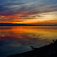 Buy canvas prints of Seaside Sunset by Jacqi Elmslie