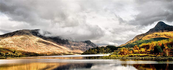 Loch Leven and the Pap of Glencoe Canvas print by Jacqi Elmslie