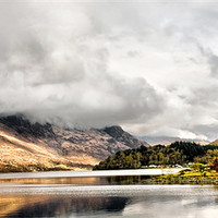 Buy canvas prints of Loch Leven and the Pap of Glencoe by Jacqi Elmslie