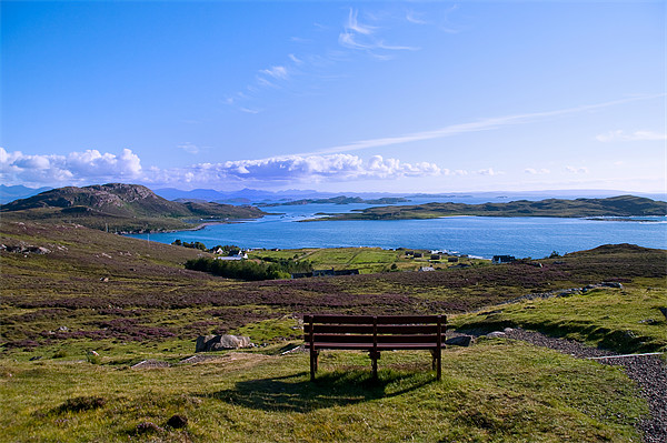 A View of the Summer Isles Canvas print by Jacqi Elmslie