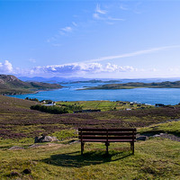 Buy canvas prints of A View of the Summer Isles by Jacqi Elmslie