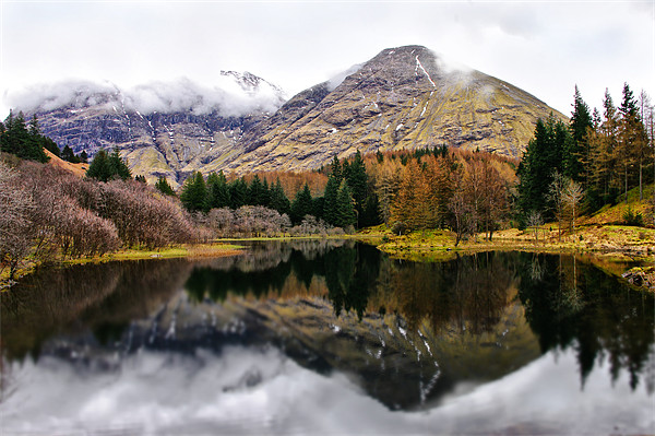 Scotland Mountain Reflections Framed Print by Jacqi Elmslie