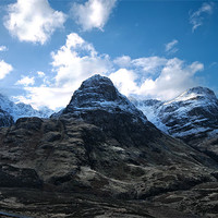 Buy canvas prints of The Drama of Glencoe by Jacqi Elmslie