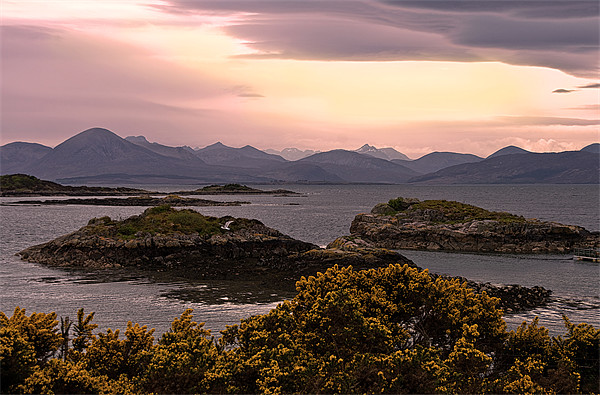Over The Sea to Skye Framed Print by Jacqi Elmslie
