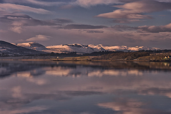 Sundown on the Beauly Firth Canvas print by Jacqi Elmslie