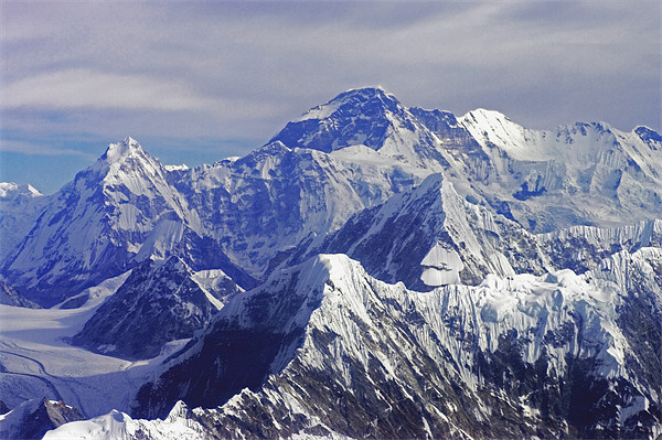 Mount Everest - The Roof of The World Framed Print by Jacqi Elmslie