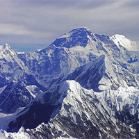 Buy canvas prints of Mount Everest - The Roof of The World by Jacqi Elmslie