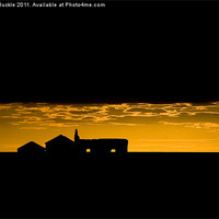 Buy canvas prints of Icelandic Sunset by James Buckle