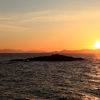 Buy canvas prints of Mallaig Sunset by James Buckle