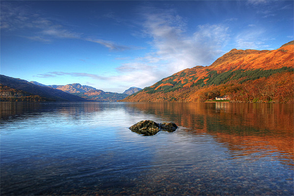 Colours of Lomond Canvas print by James Buckle
