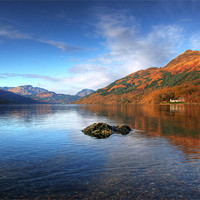 Buy canvas prints of Colours of Lomond by James Buckle