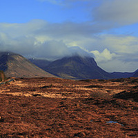 Buy canvas prints of  Cuillin View by James Buckle