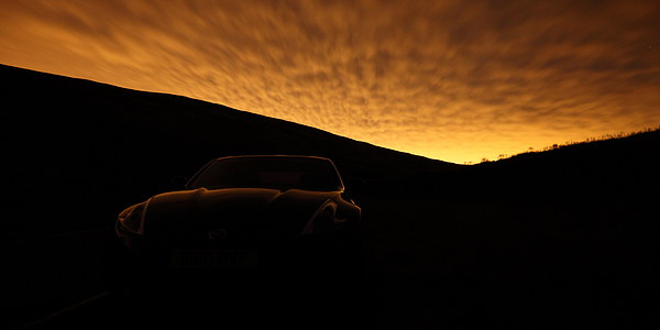 370Z under Sodium Canvas print by James Buckle