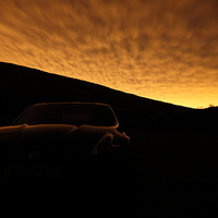 Buy canvas prints of  370Z under Sodium by James Buckle