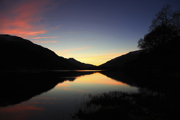 Loch Voil Sunset Canvas print by James Buckle