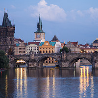 Buy canvas prints of Prague Evening by James Buckle