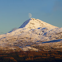 Buy canvas prints of Ben Lomond Moon by James Buckle