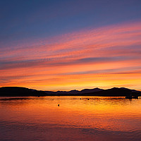 Buy canvas prints of Oban Sunset by James Buckle