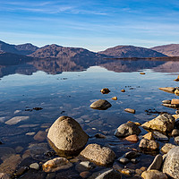 Buy canvas prints of Coastal Mountains by James Buckle