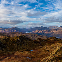 Buy canvas prints of Over the Trossachs by James Buckle
