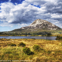 Buy canvas prints of Errigal, Pride of Donegal by David McFarland