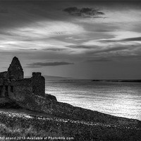 Buy canvas prints of Dunluce by moonlight by David McFarland