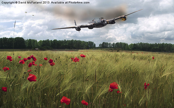 We will remember them Canvas print by David McFarland