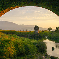 Buy canvas prints of Evening at the Twelve Arches by David McFarland
