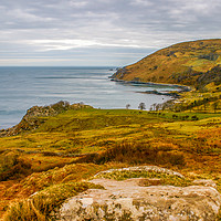 Buy canvas prints of Murlough Bay Antrim by David McFarland