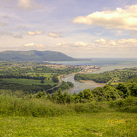 Buy canvas prints of Flagstaff and Carlingford by David McFarland