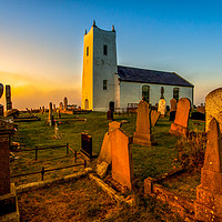 Buy canvas prints of Evensong at Ballintoy by David McFarland