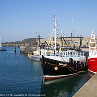 Buy canvas prints of Ardglass harbour by David McFarland