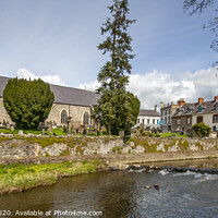Buy canvas prints of Dromore on the Lagan by David McFarland