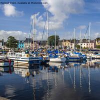 Buy canvas prints of Ballycastle Marina by David McFarland