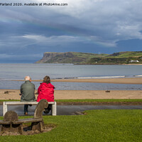 Buy canvas prints of Before the rain at Ballycastle by David McFarland