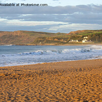 Buy canvas prints of Ballycastle panorama by David McFarland