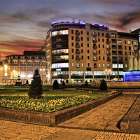Buy canvas prints of BBC Buildings 2011 by Martin Parkinson