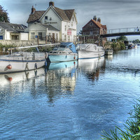 Buy canvas prints of Crown and Anchor  2010 by Martin Parkinson