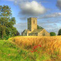 Buy canvas prints of St Andrews Church 2012 by Martin Parkinson