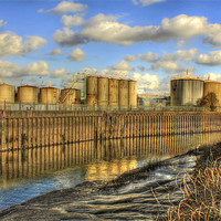 Buy canvas prints of industriHull 2013 by Martin Parkinson