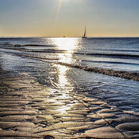 Buy canvas prints of  Spurn Point Sunrise by Martin Parkinson