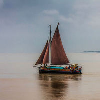 Buy canvas prints of  Humber Sloop  Spider T by Martin Parkinson