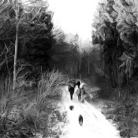 Buy canvas prints of family ramble by Martin Parkinson