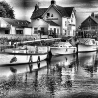 Buy canvas prints of crown and anchor by M P