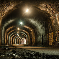Buy canvas prints of Headstone Tunnel by Andy Morley