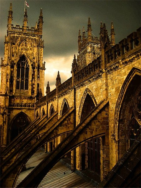York Minster Canvas Print by Alison Ward